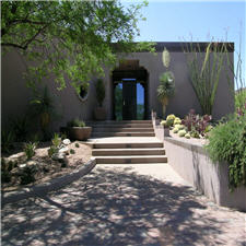 Entryway with Shade